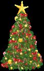 Transparent Xmas Tree with Star