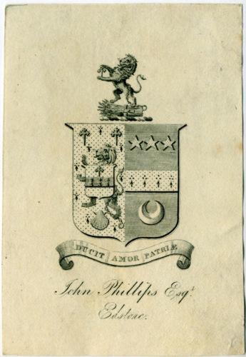 John Phillips Esqr. Edstone