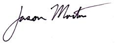 Jason Martin signature