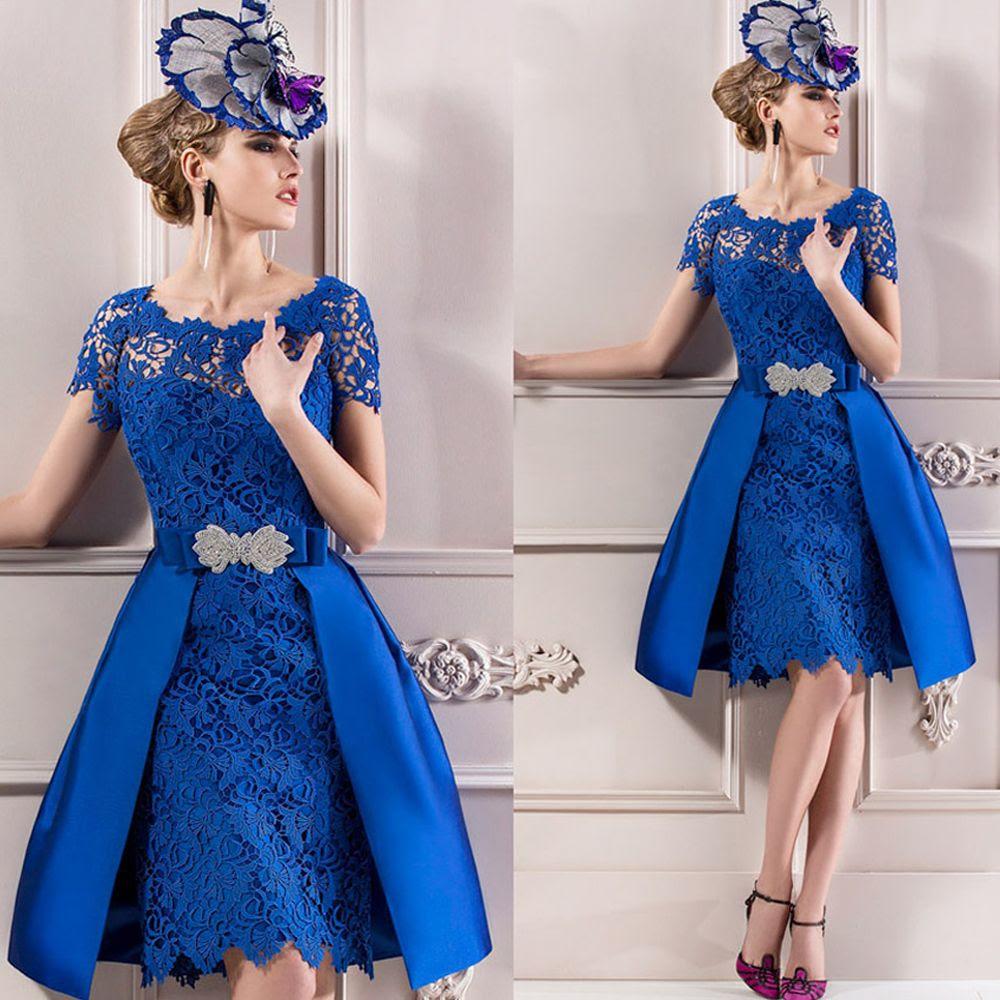 royal blue vintage groom mother of the bride dresses 2016