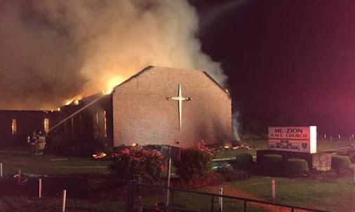 Another Historically Black Church in South Carolina Burns – NBC News