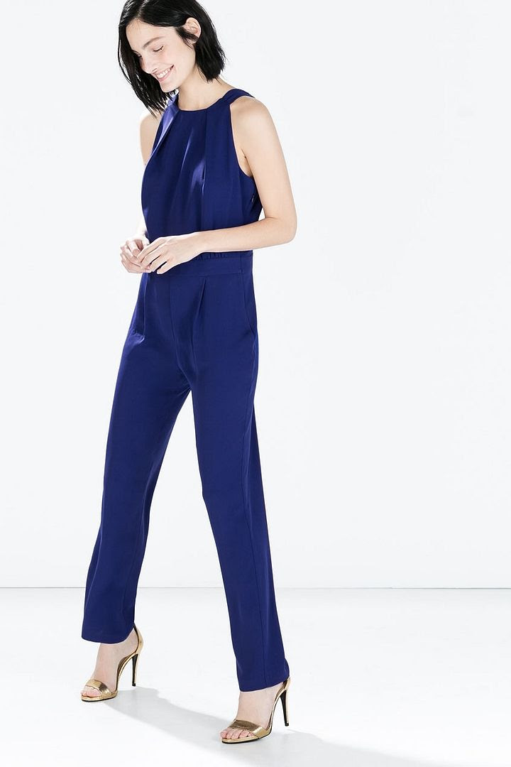 Zara Backless Jumpsuit