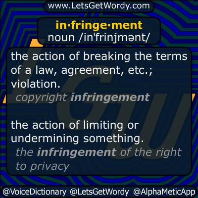 infringement 12/10/2014 GFX Definition