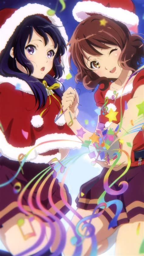 christmas anime  hibike euphonium kumiko oumae reina