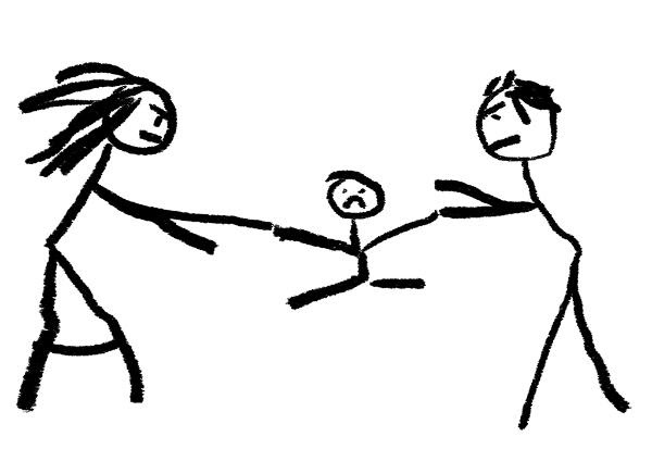 Ilustración de la sustracción de menores por sus progenitores ©BELGA_EASYFOTOSTOCK.