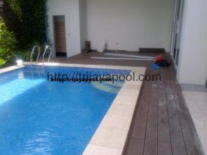 Pemasangan WPC Deck Pool