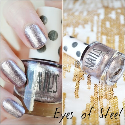 Topshop Eyes of Steel Nail polish