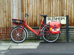 Royal Mail Cycle by kenjonbro