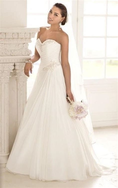whiteivory wedding dress custom size