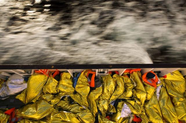 Selon l'ONU, plus de 5000 personnes ont trouvé... (Photo Emilio Morenatti, AP)