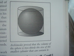 Sphere is 2/3 Cylinder