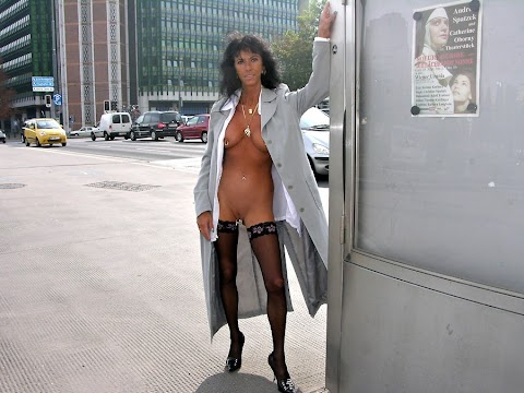 Naked Under Coat - Hot 12 Pics | Beautiful, Sexiest