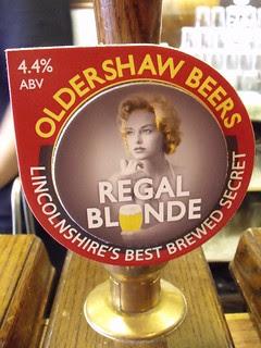 Oldershaw, Regal Blonde, England