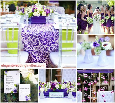 Top 5 Color Combination Ideas For Purple Weddings