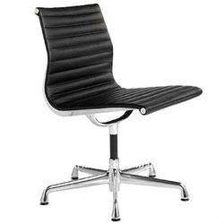 Leather Office Chair Without Wheels Rf-s072m - Buy Office Chair ...