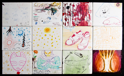 Sketchbook Covers - Back