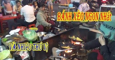 Ăn bánh xèo ngon nhất Sài Gòn ngắm bà chủ nghệ sỹ vui tính đúc bánh bên bếp lửa