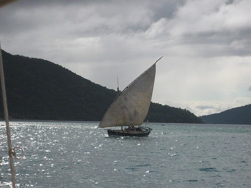reefed dhow