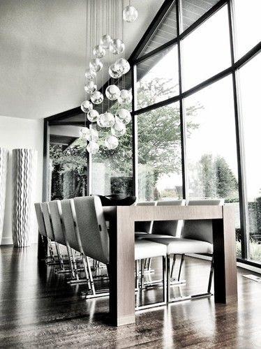 GAIL GUEVARA:  modern dining room