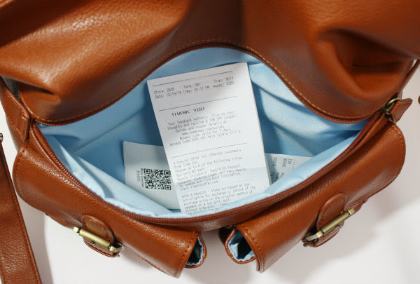 Image result for receipt in my handbag