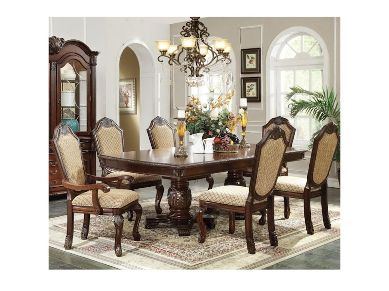 Get Inspired For Formal Dining Room Sets With Upholstered Chairs wallpaper