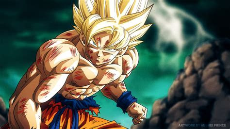 super saiyan son goku dragon ball   hd anime