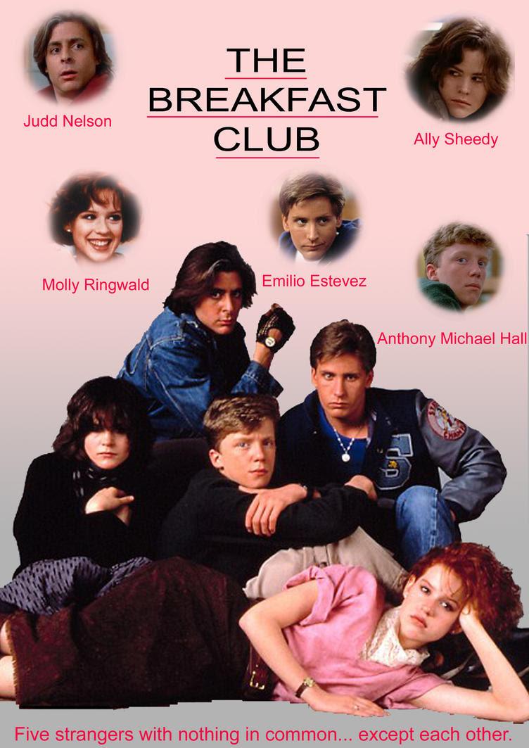 Resultado de imagem para The Breakfast Club 1985 posters