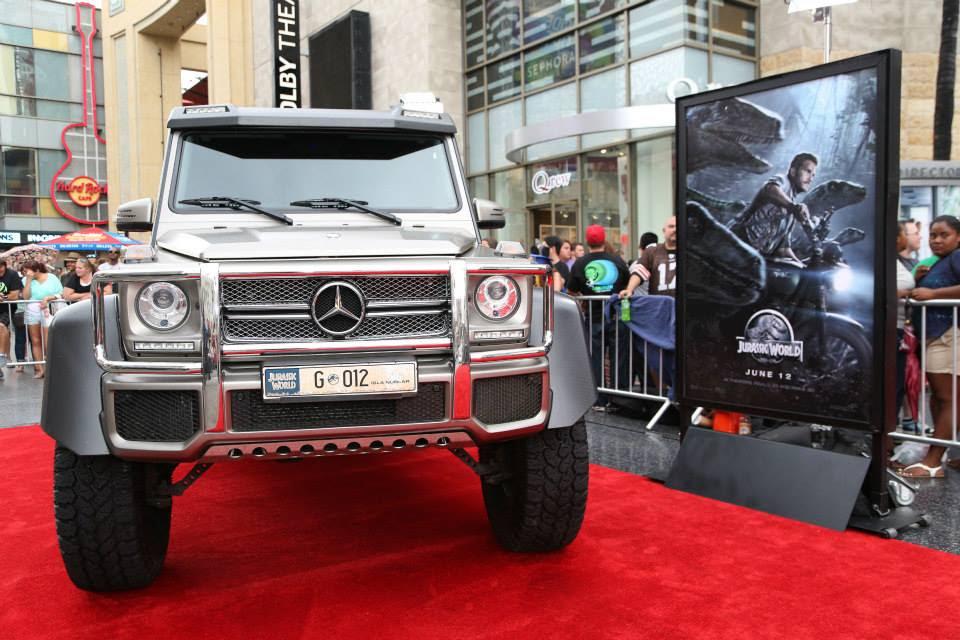 Gallery: Mercedes-Benz at Jurassic World Premiere
