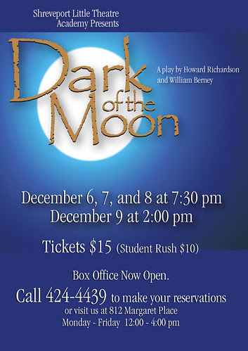 Shreveport Little Theater Academy: Dark of the Moon by trudeau