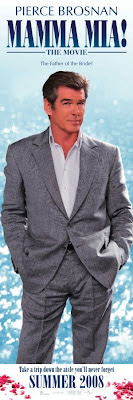 Pierce Brosnan as one of the potential dad's in Mamma Mia - The Movie