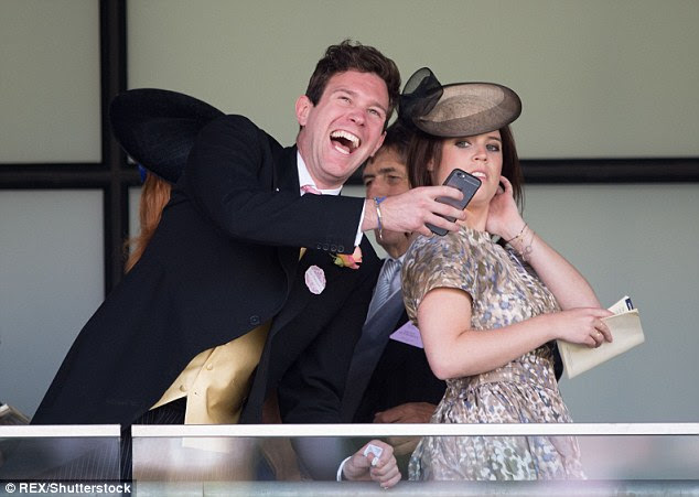 A family friend said: 'Jack is very close to Eugenie's family. He is always invited away with them in the summer'