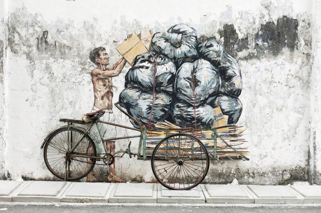 24 eloquentes obras de arte urbana mostrando a desagradável verdade 24