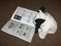 This little stuffed bull LOVES Der Faust!!
