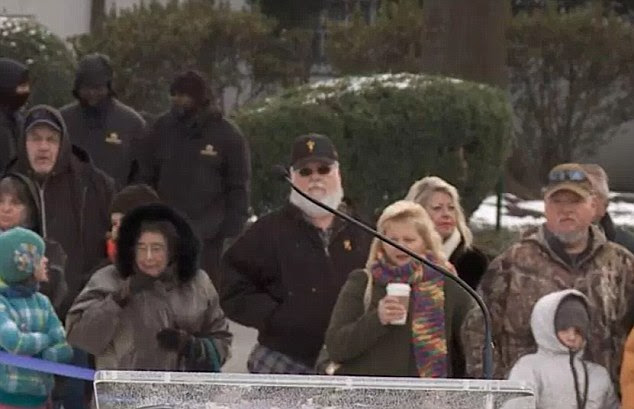 The picture of a large bearded man taken at Graceland last week which has made some conspiracy theorists claim it could be Elvis