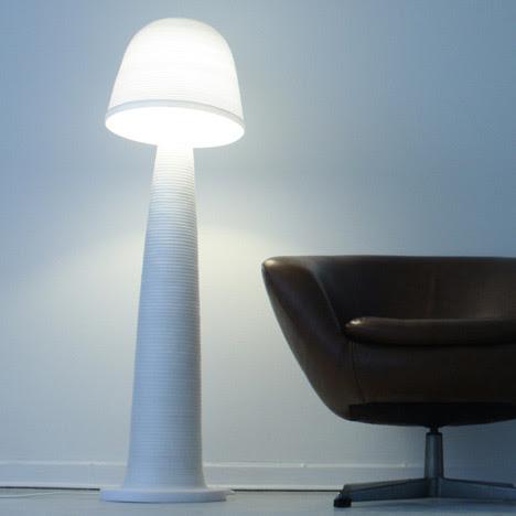 Fungi Lamp - Andreas Kowalewski, decoracion, diseño, iluminacion