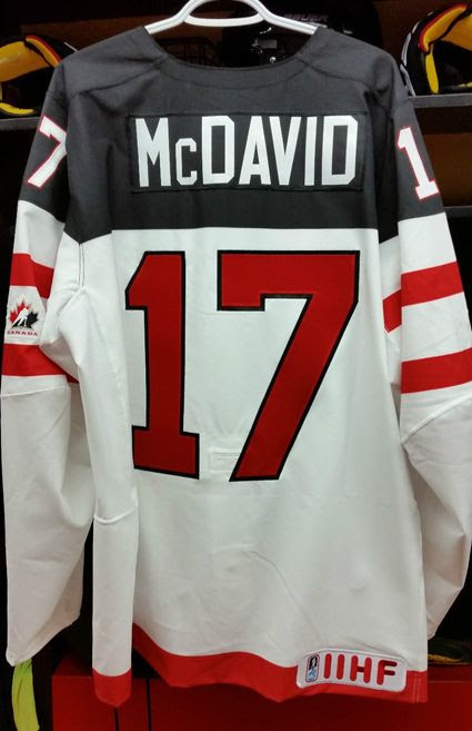 Canada 2015 WJC McDavid jersey photo Canada 2015 WJC McDavid B jersey.jpg