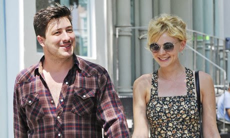 Carey Mulligan with her husband, Marcus Mumford