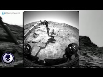 UNEXPLAINED 'Tripod' Object In Mars Rover Image Hidden By NASA?