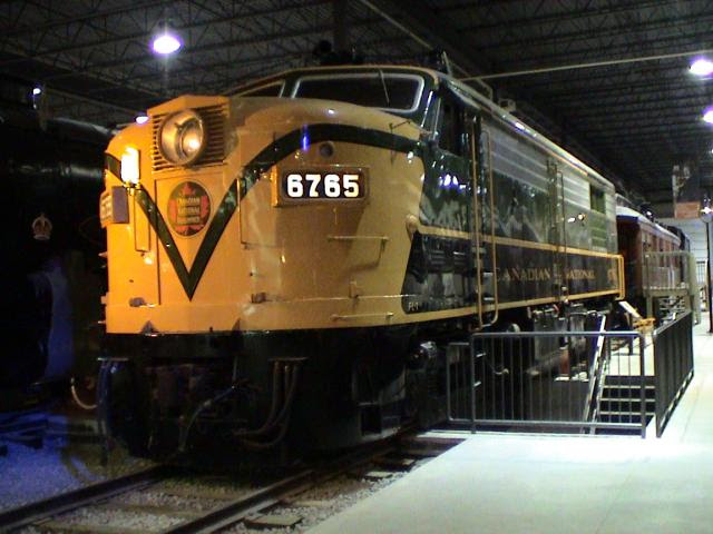 CN 6765 at the Canadian Railway Museum