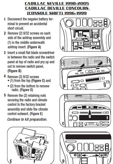 .2000-CADILLAC-SEVILLEinstallation instructions.