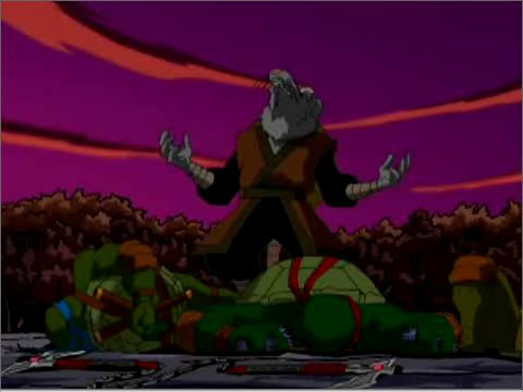 TMNTLostEpisodes  - 016 - Splinter mourns his dead sons (a nightmare)