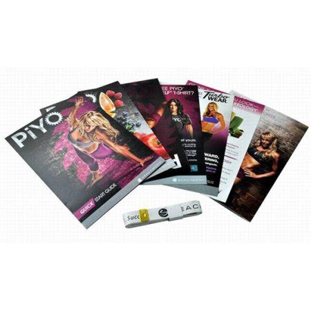 piyo workout program base kit  disc complete dvd
