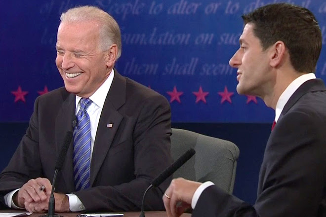 Image result for biden ryan debate photos