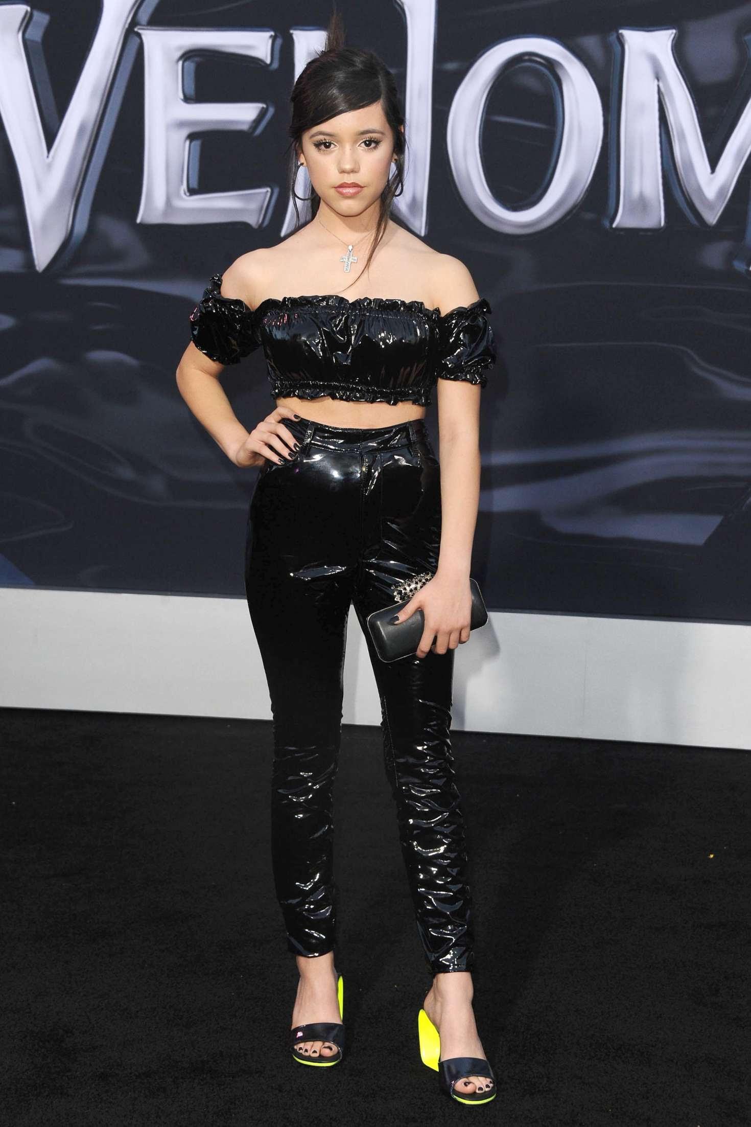 Jenna Ortega – 'Venom' Premiere in Los Angeles