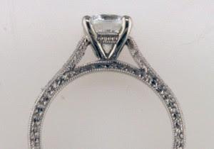 Reparto y mano grabado del anillo, I-21589