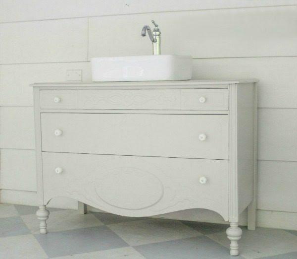 modern antique dresser vanity