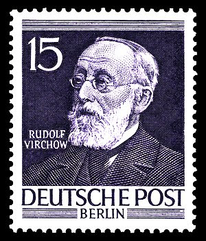 stamp series, men of the history of Berlin I, ...