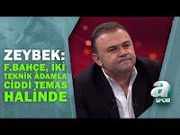 """Ozan Zeybek: """"Fenerbahçe Şu Anda İki Tane Teknik Adamla Ciddi Temas Halinde"""" / Transfer Raporu - A Spor"""