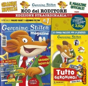 Geronimo Stilton, magazine e…