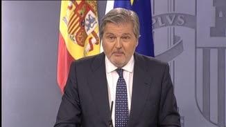 El portaveu del govern espanyol, ÍñigoMéndez de Vigo